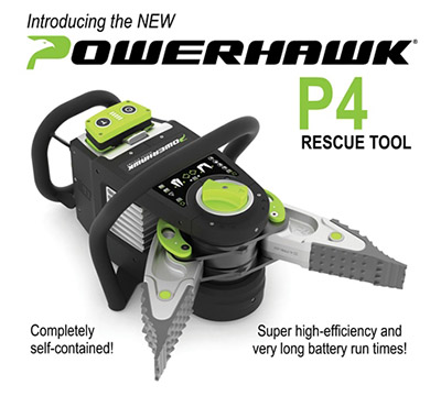 Power Hawk® Rescue Systems P4 Rescue Tool - TSF